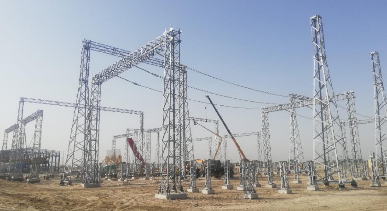 Bukhara 270 MW'lık, Kombine Çevrim Santrali'nin 220 kV'luk Şalt Tesisi Projemiz tüm hızıyla devam ediyor!
