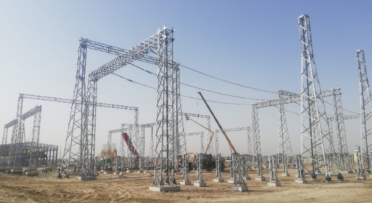 Our Bukhara 270 MW Combined Cycle Power Plant's 220 kW Substation Project continues at full speed!