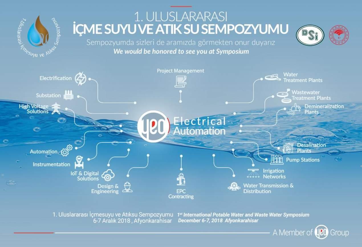 1. Uluslararası İçme Suyu ve Atık Su Sempozyumu