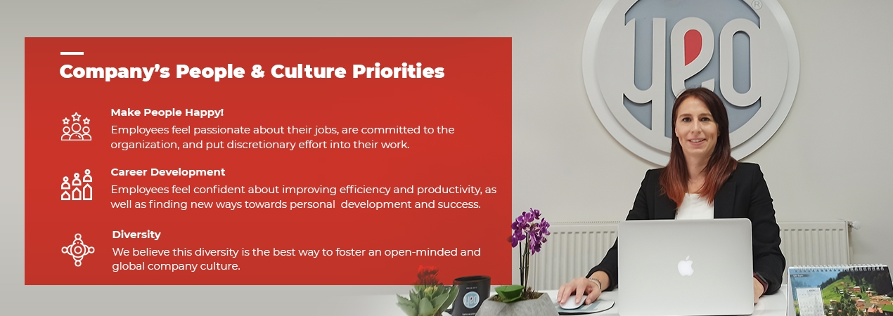 Company's People & Culture Priorities