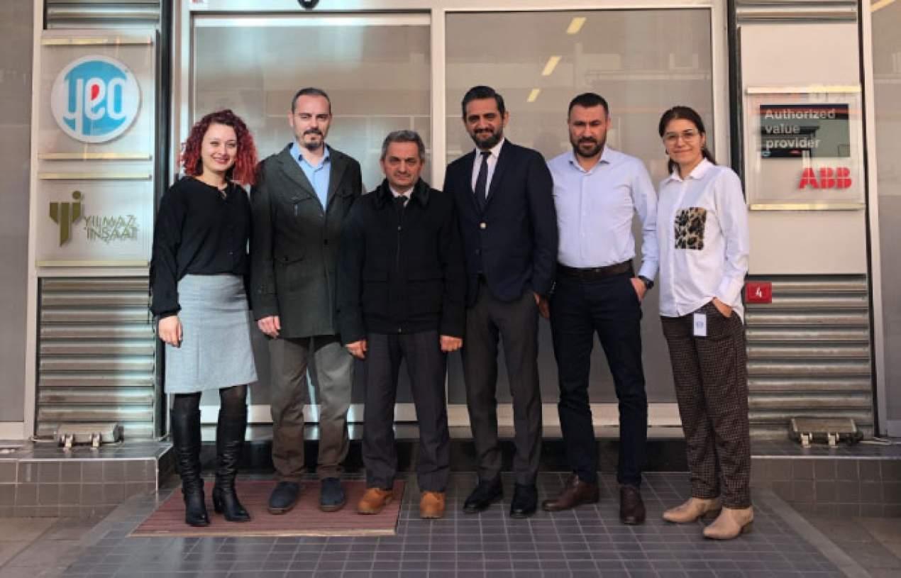 Dear teacher, Mr. Ahmet BIR's visit to YEO