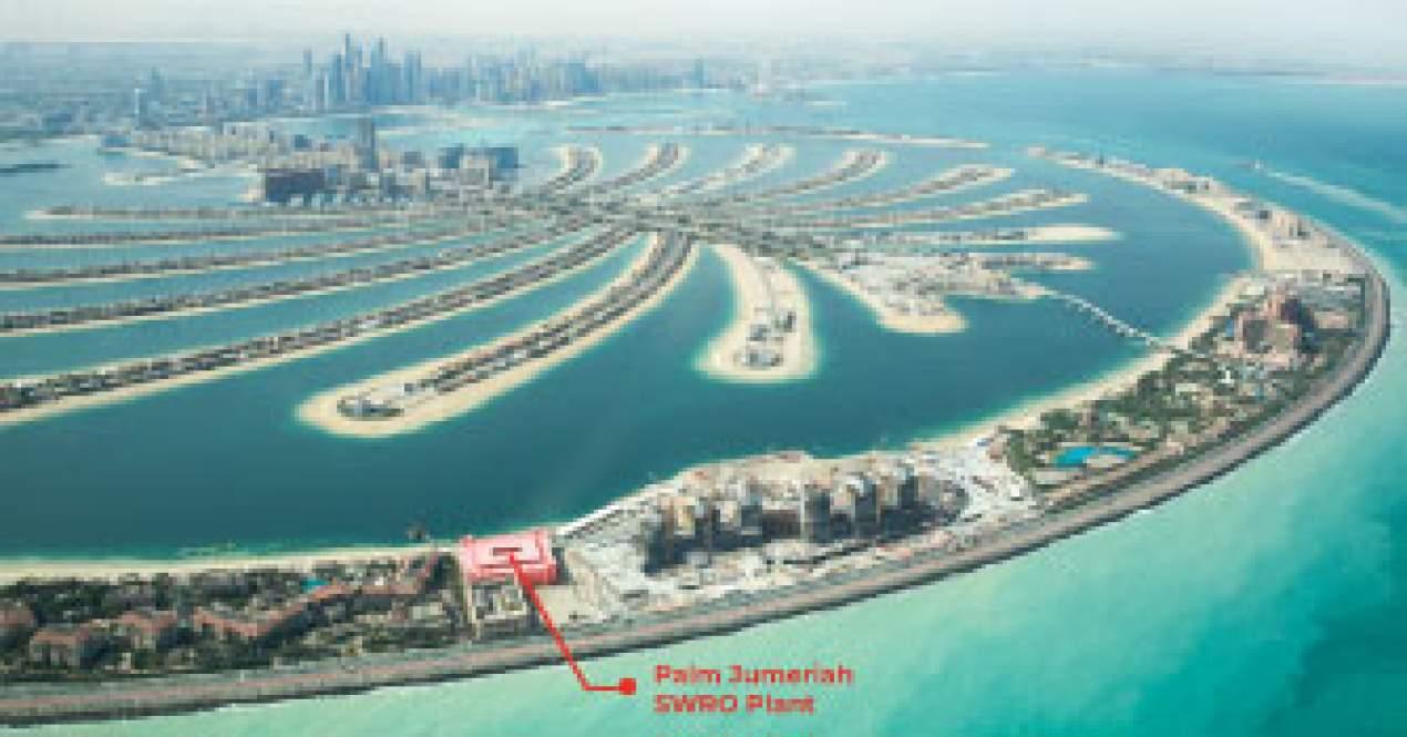 DEWA, Palm Jumeriah SWRO Fabrikasında YEO'yu tercih etti