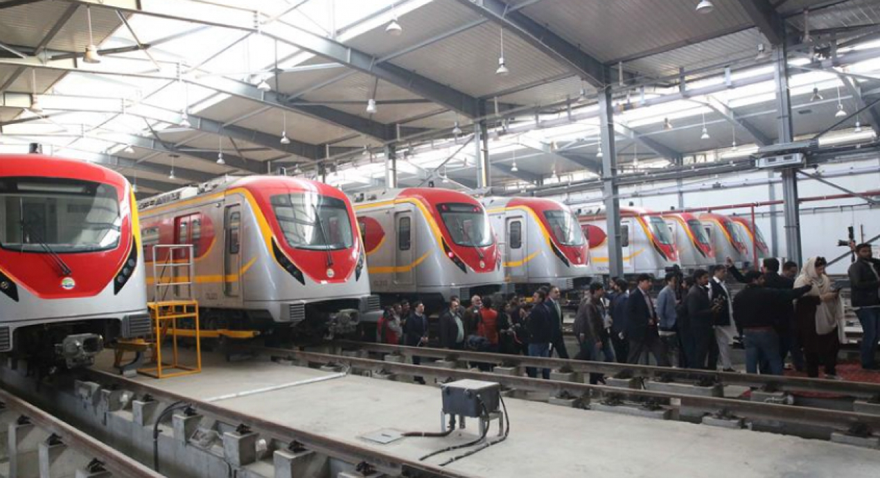 FAT completed for Orange Metro Line, Pakistan's first metro line project