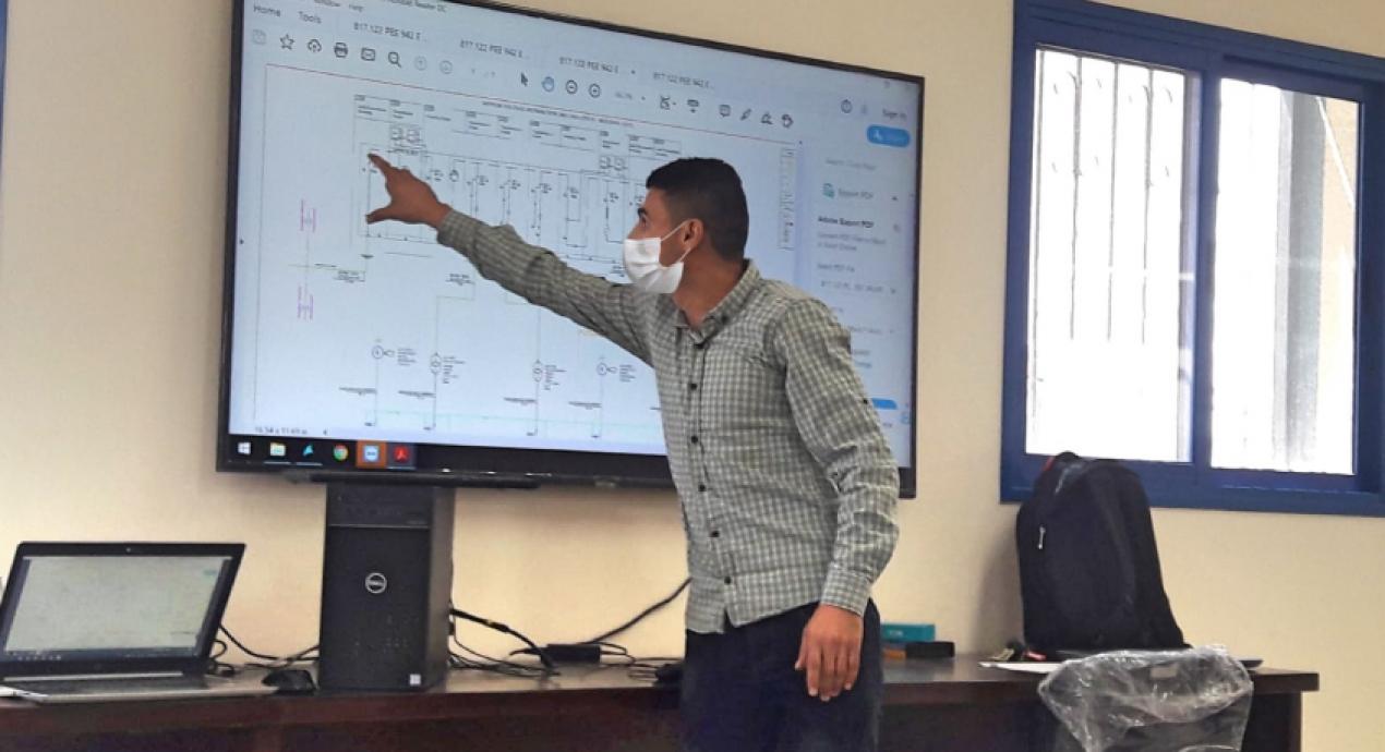 Gazze - Filistin Buriej Atıksu Arıtma Tesisi ve Wadi Gaza Merkez Pompa İstasyonu proje eğitimi