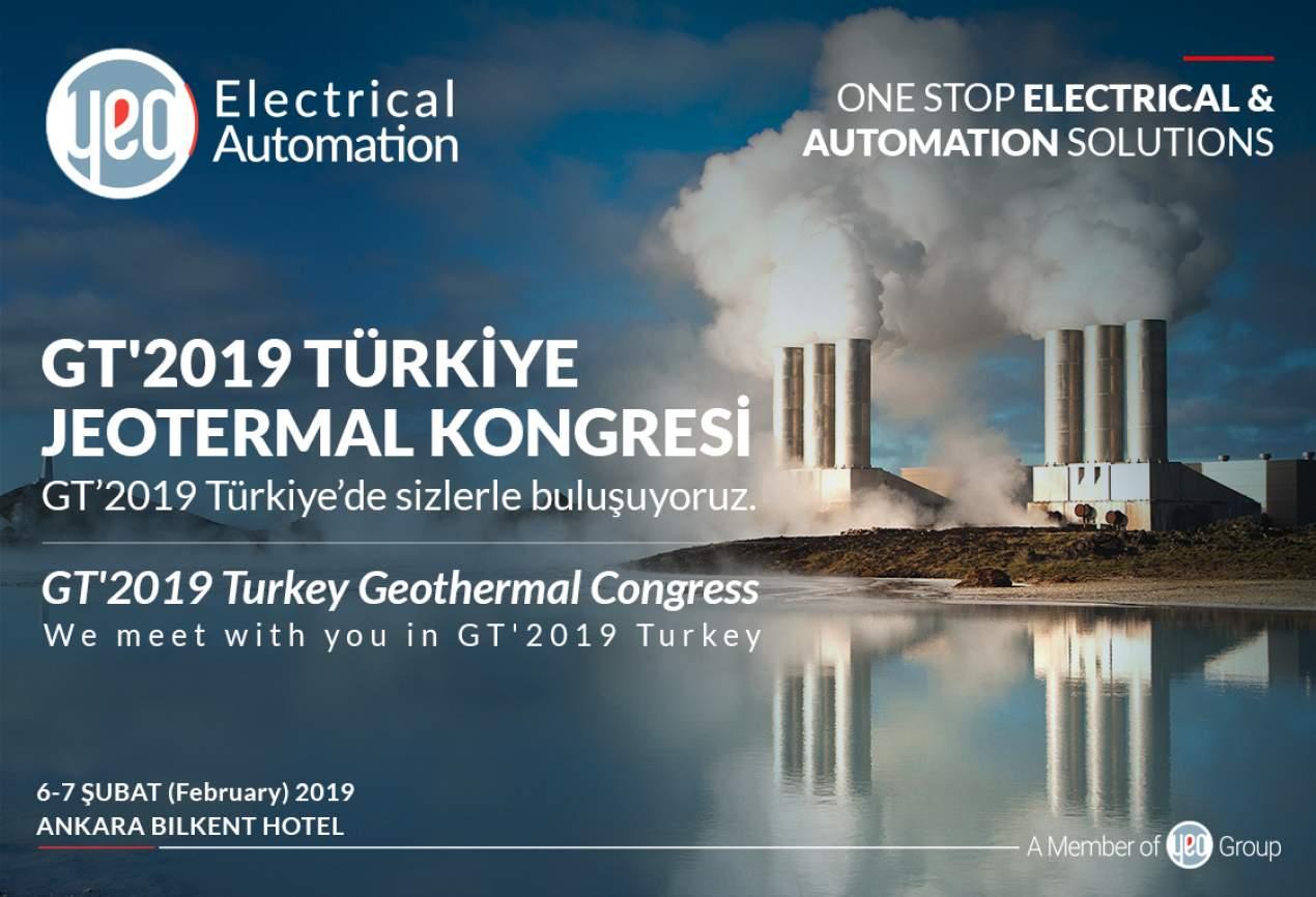 GT'2019 Türkiye Jeotermal Kongresi