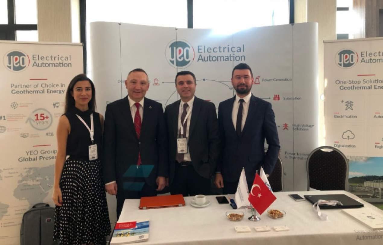 GT'2020 Türkiye Jeotermal Kongresi'nde sektör temsilcileriyle buluşma