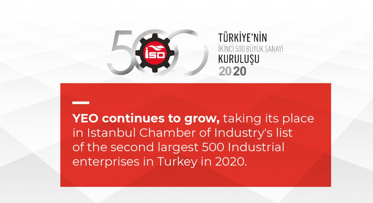 Second 500 of Istanbul Chamber of Industry