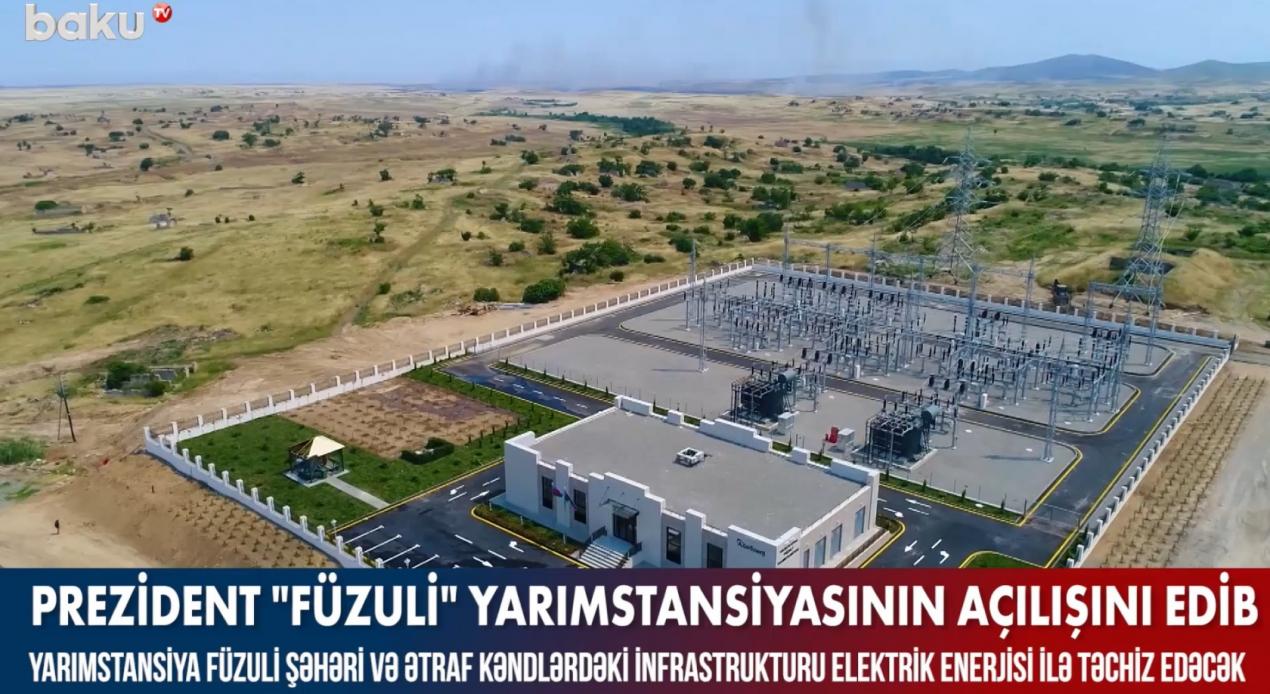 Two Substations from YEO Teknoloji to Nagorno-Karabakh