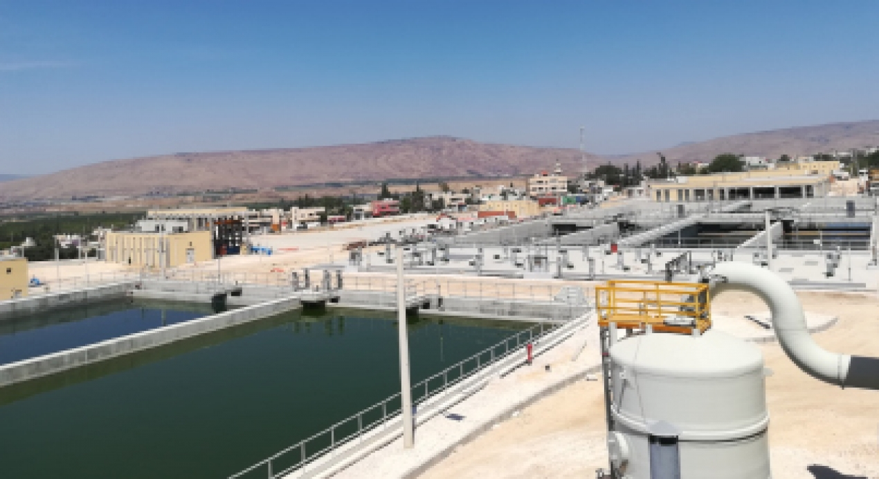 Wadi Al Arab System II water transportation project started operation