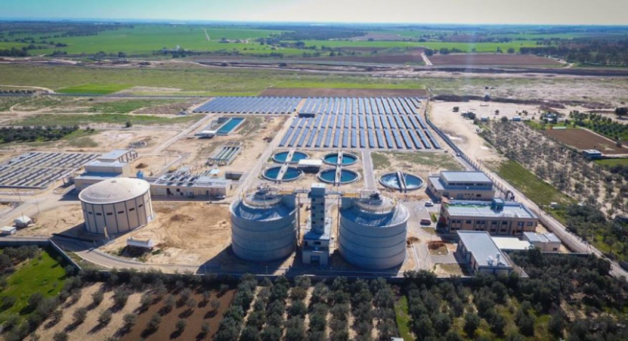 Wadi Gaza Central Pumping Station, Gaza - Palestine