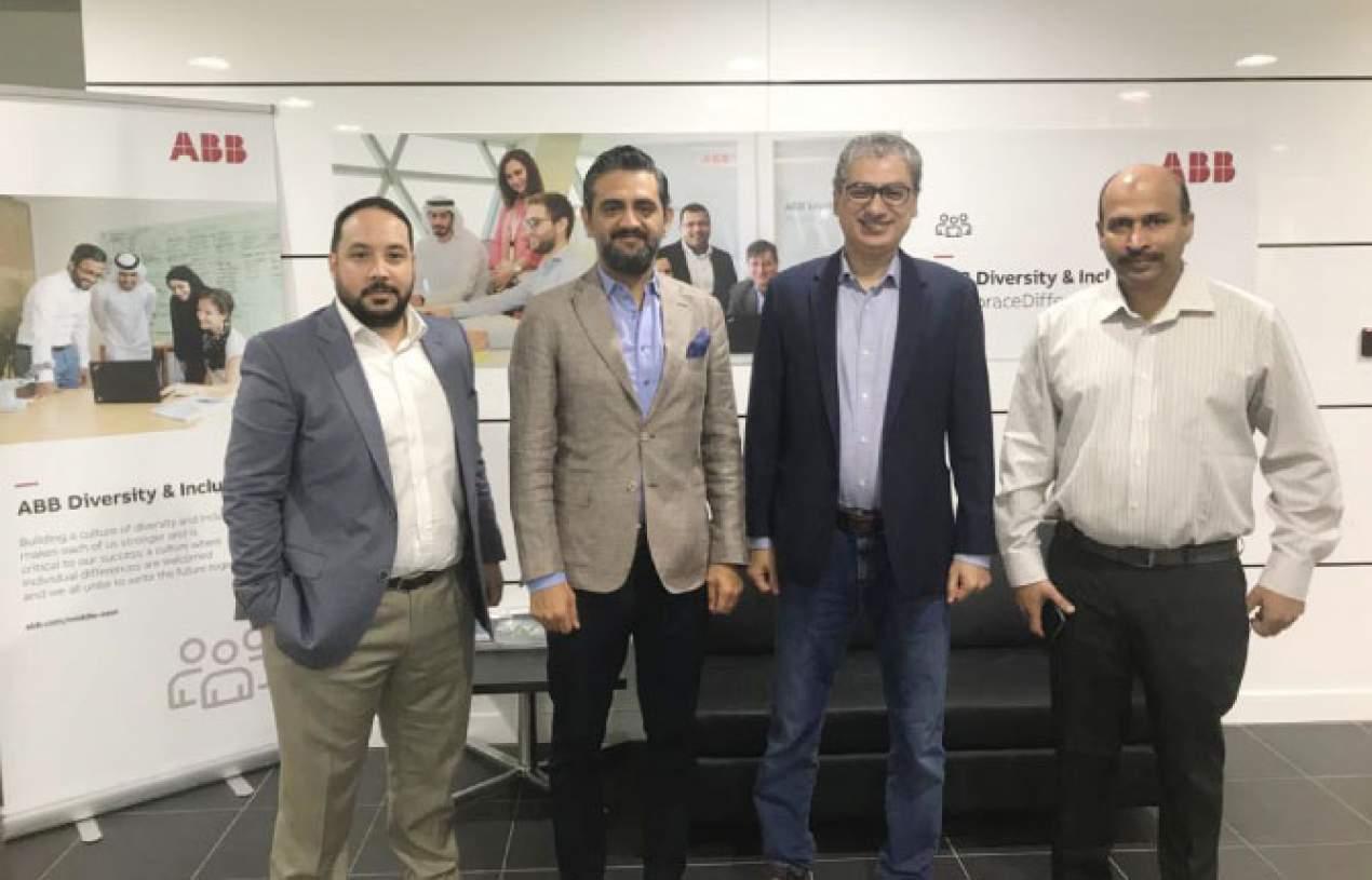 YEO Contracting LLC ve ABB UAE'nin uzun vadeli işbirliği