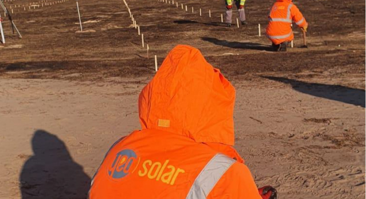 YEO Solar has started 16MW Solar Plant project in Ukraine