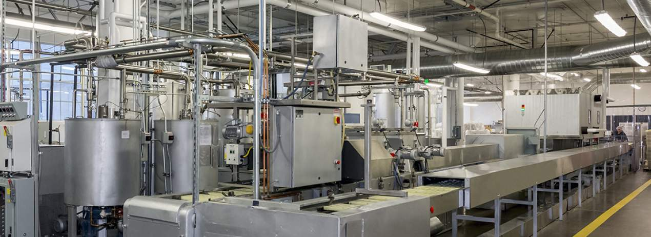 Altinmarka Chocolate Factory Raw Materials Automatic Transfer Line Automation System