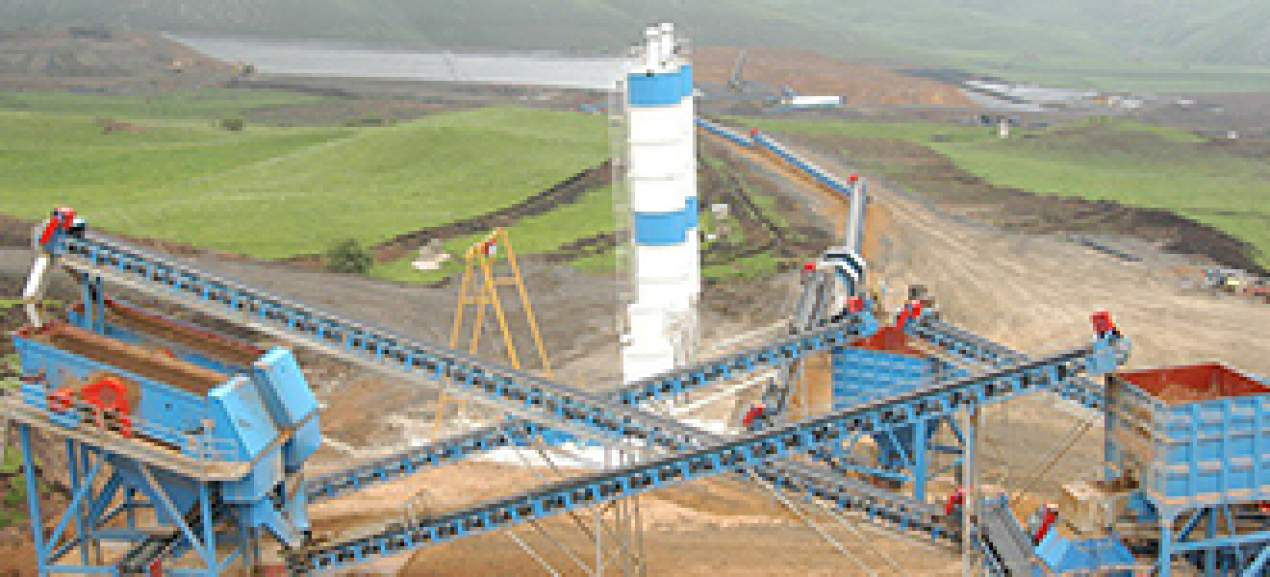 Anglo Asian Mining Company Gedabek Gold Mine