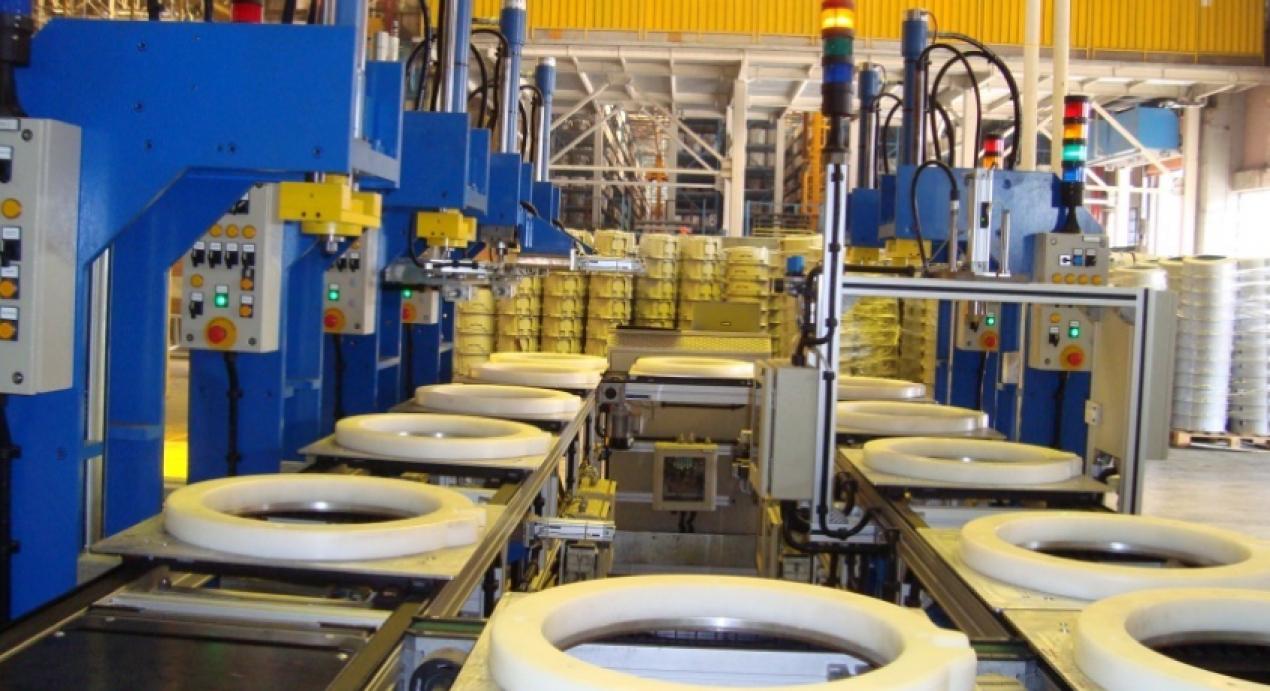 Arçelik Washing Machine Manufacturing Line Automation