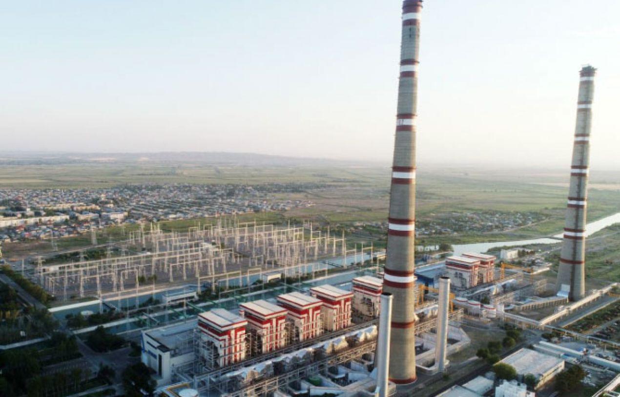 Azerenerji IES Termik Santrali Trafo Merkezi