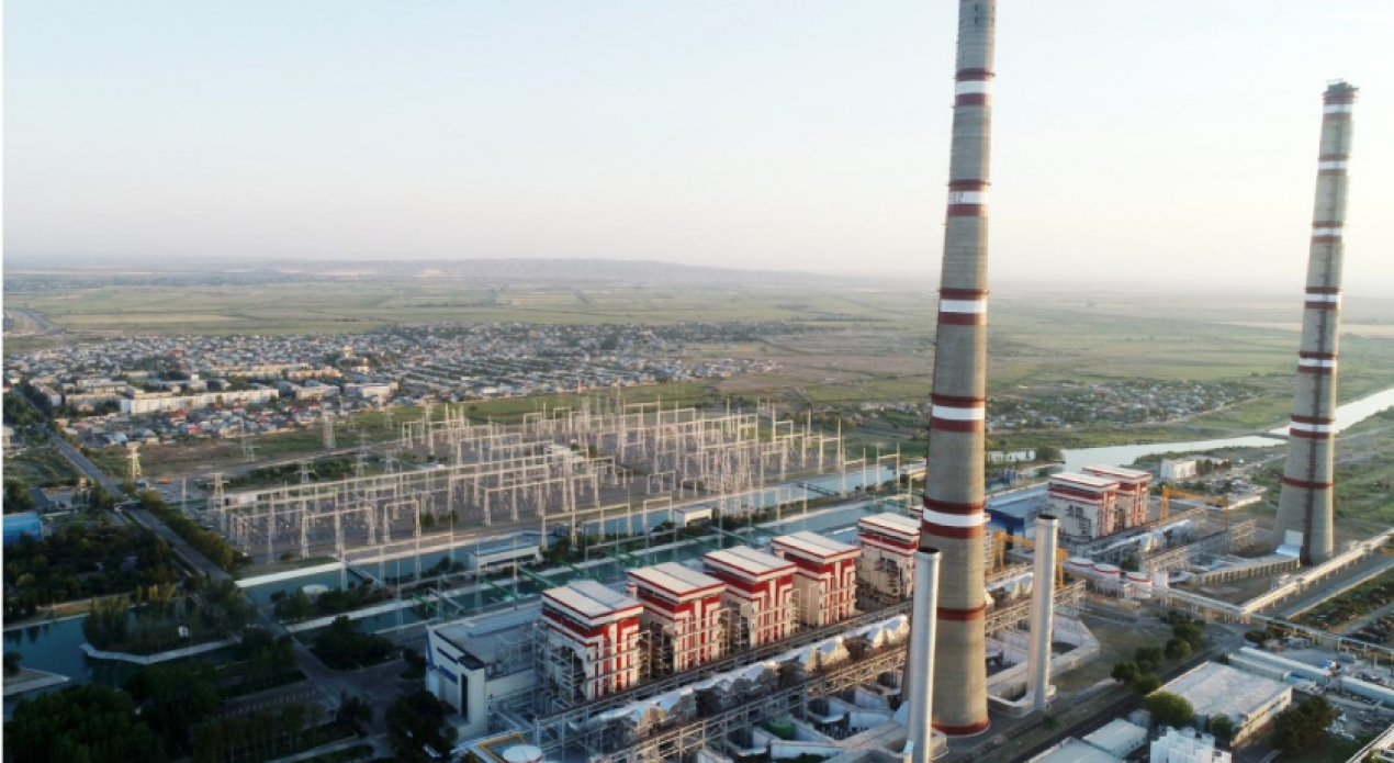AzerEnergy IES Thermal Power Plant Substation