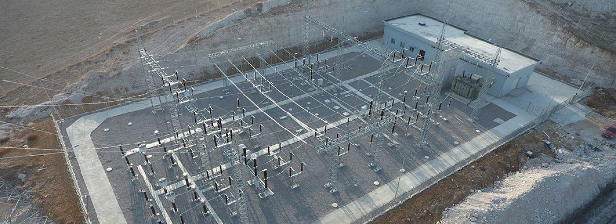 Bikiltaş Cement Factory Substation & Power Transmission Line