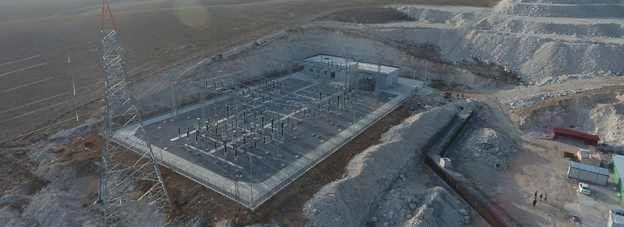 Bikiltaş Çimento Fabrikası Trafo Merkezi ve Enerji İletim Hattı
