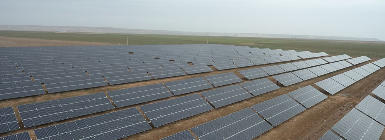 Cihanbeyli 3,3 MW Solar Power Plant / Turkey