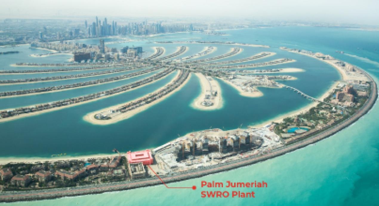 Dubai Su ve Elektrik İdaresi Palm Jumeirah Adası Desalinasyon Ünitesi Otomasyonu