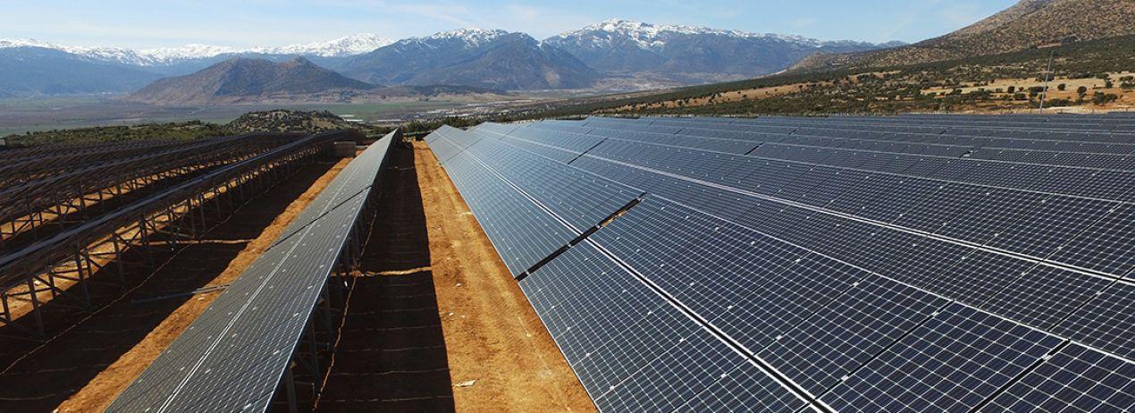 Elmalı 6 MW Güneş Enerji Santrali