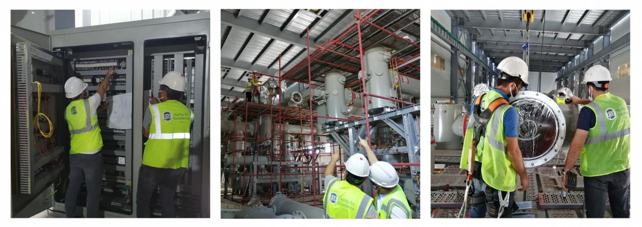 EMBA Hunutlu Termik Santrali 400kV Gaz İzoleli Trafo Merkezi Projesi