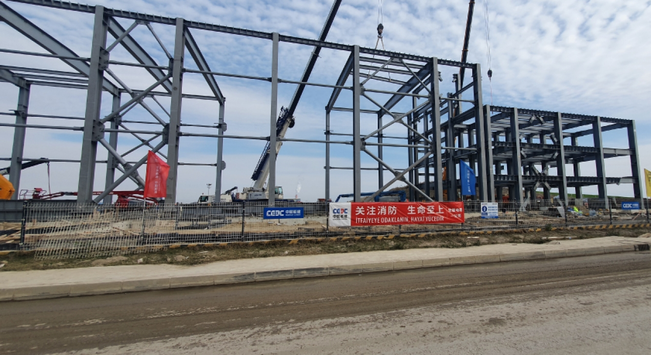 EMBA Hunutlu Thermal Power Plant 400kV Gas Insulated Substation (GIS) Project