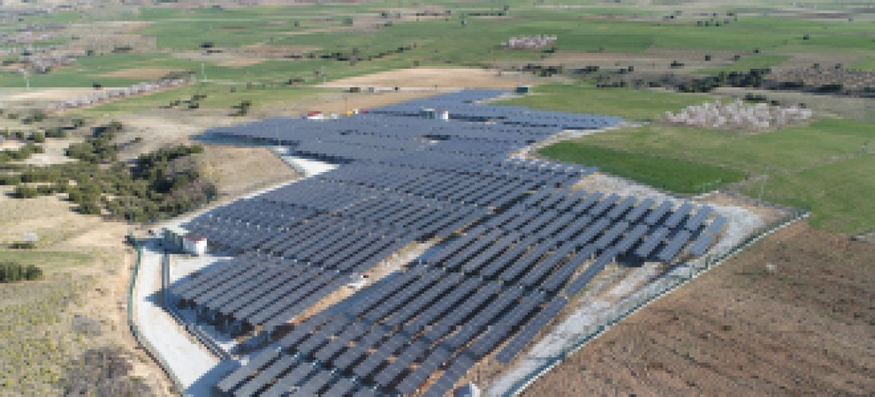 Isparta 2,2 MW Solar Power Plant / Turkey