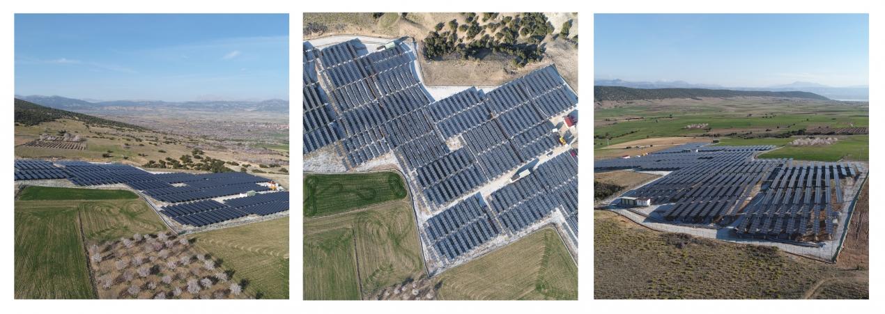 Isparta 2,2 MW Solar Power Plant / Turkey