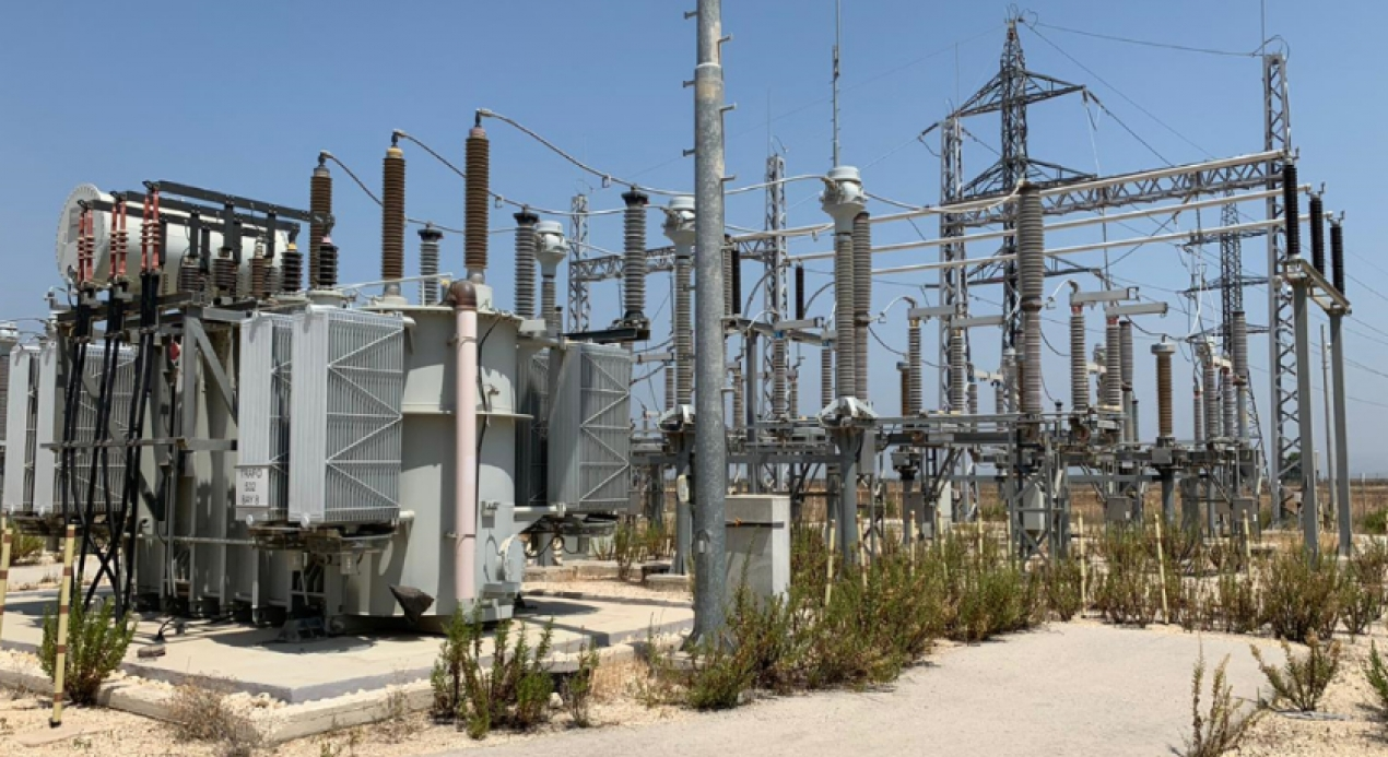 Jenin Industrial Free Zone, Electrical Substation