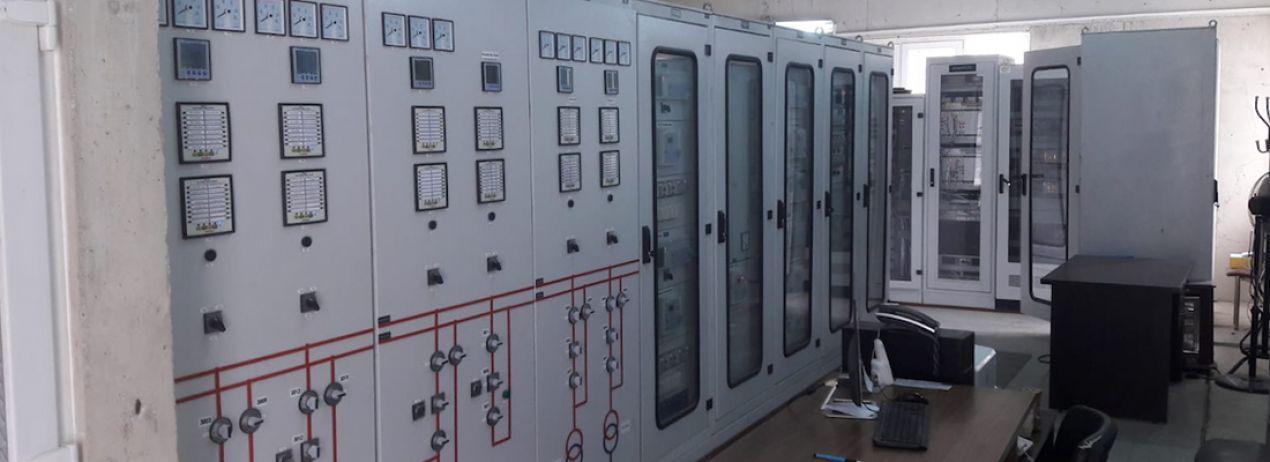Kasımlar Hidroelektrik Enerji Santrali Trafo Merkezi Kontrol & Kumanda Sistemi