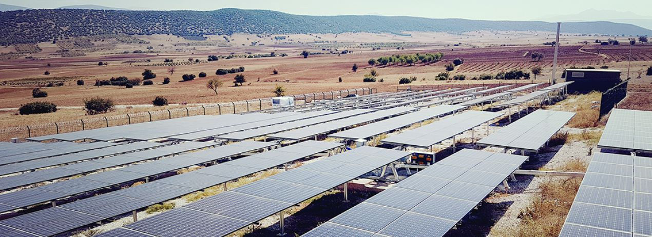 Keçiborlu 2,2 MW Solar Power Plant / Turkey