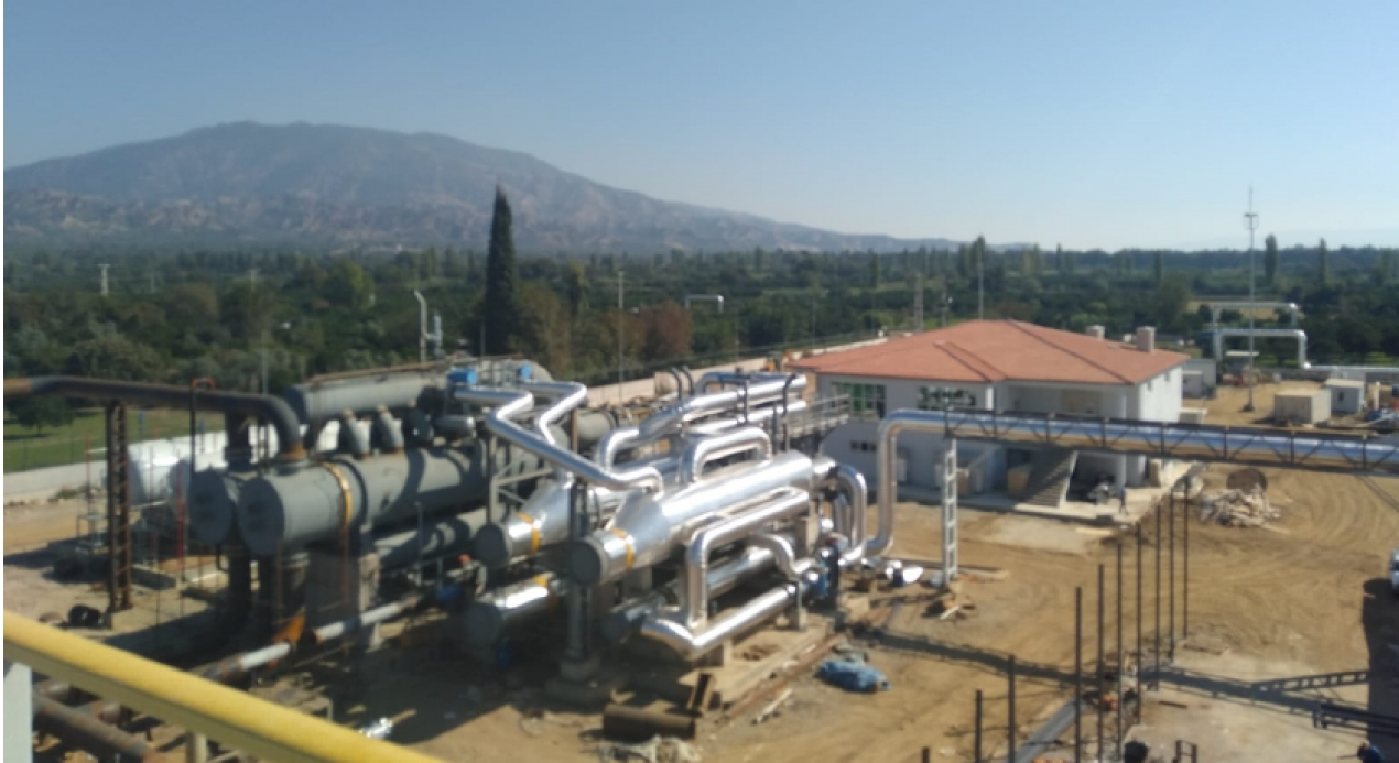Kiper Geothermal Power Plant