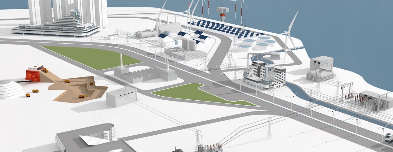 Renewable Energy for Power Plant