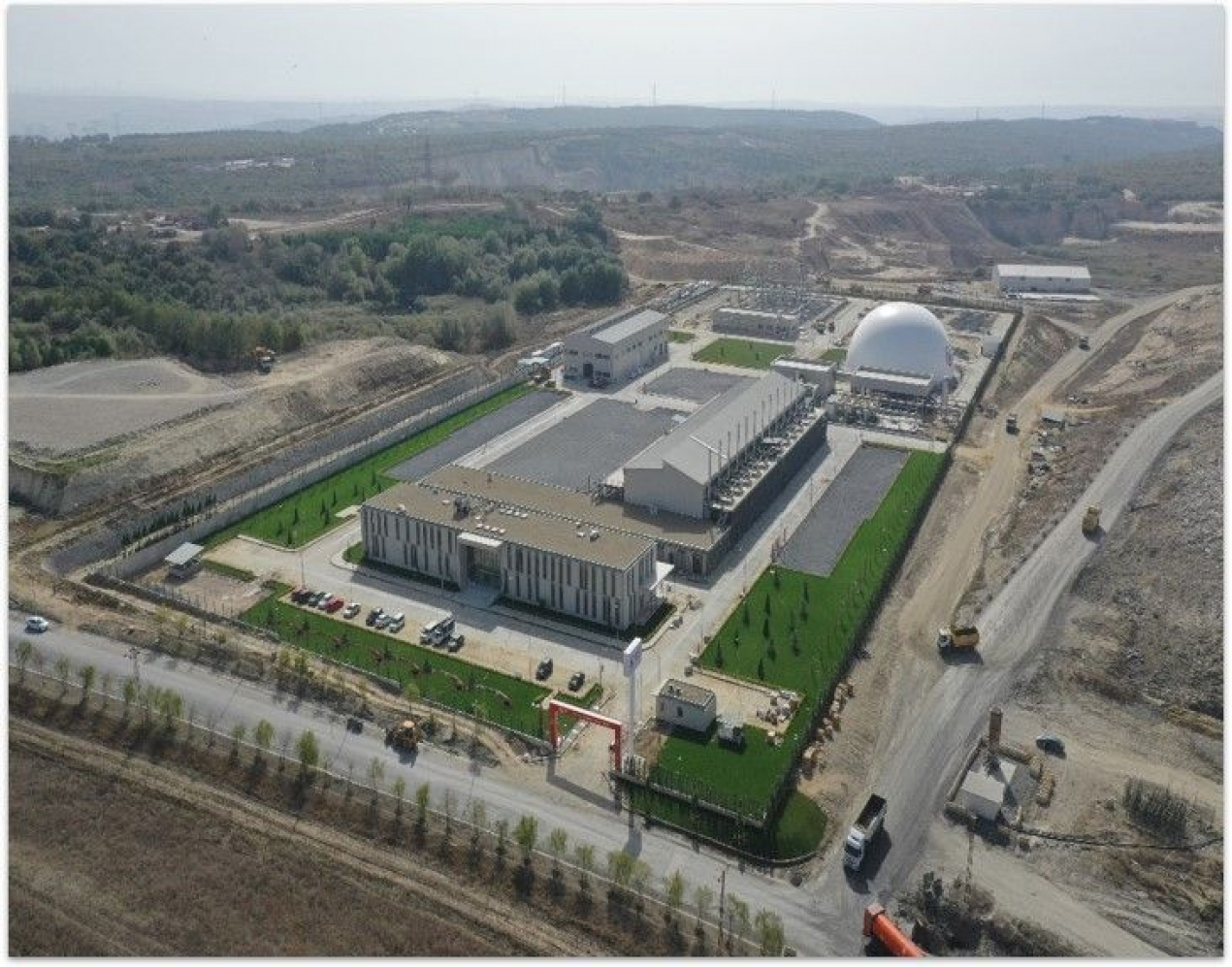 Seymen Landfill Gas Power Plant