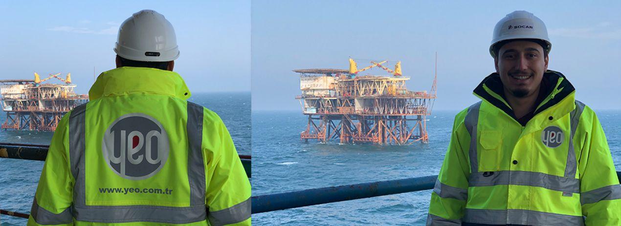 SOCAR Açık Deniz Petrol Platformu 14