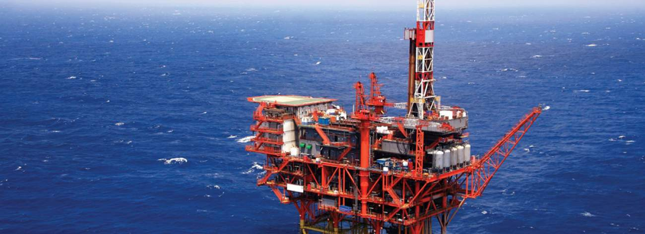 SOCAR Offshore Oil Platform 14