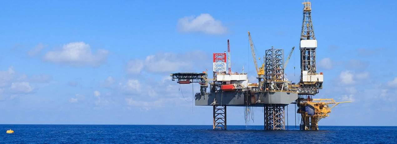 SOCAR Offshore Oil Platform 20