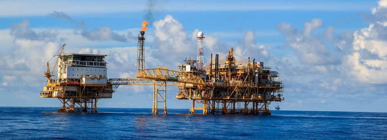 SOCAR Offshore Oil Platform 22