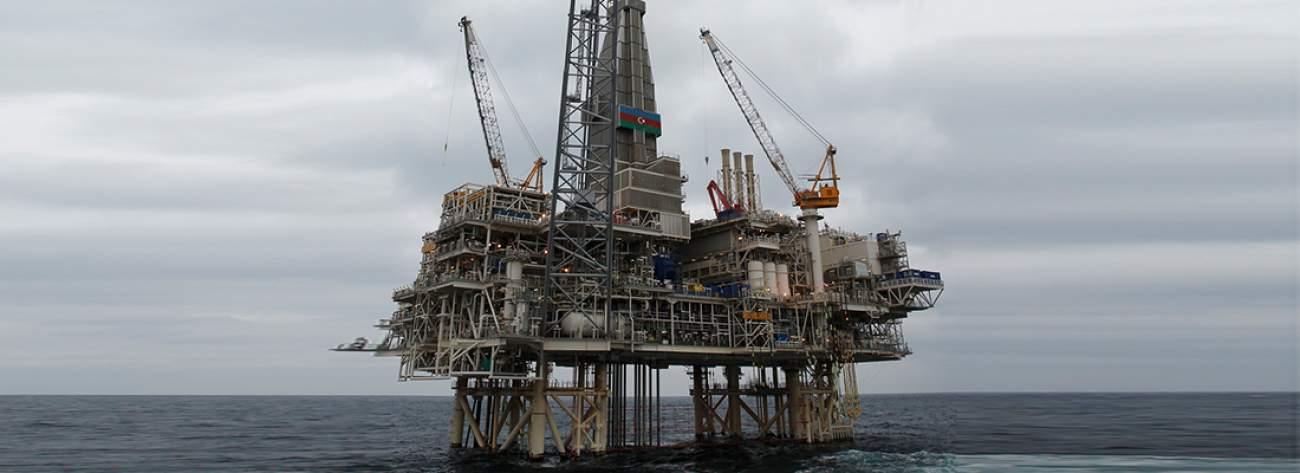 SOCAR Offshore Oil Platform 6