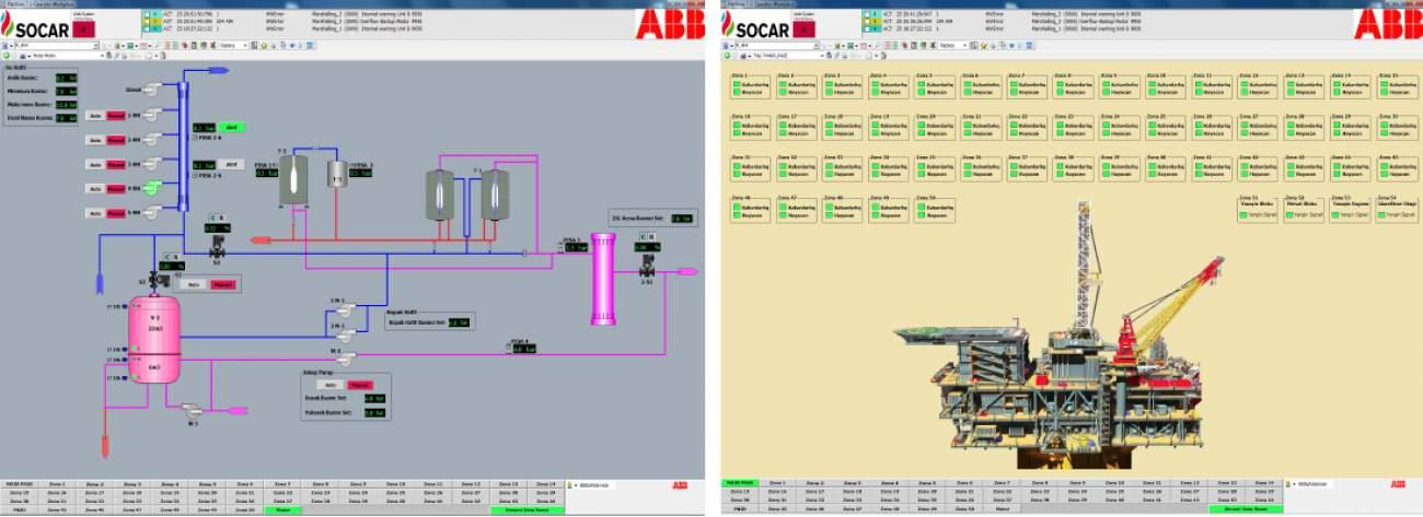 SOCAR Offshore Oil Platform 7
