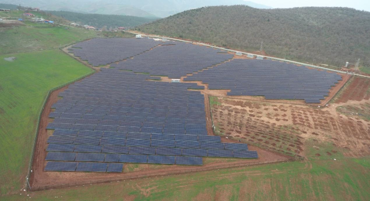Türkoglu 4 MW Solar Power Plant