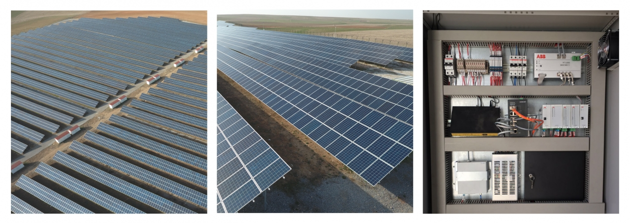 Tursunlu 11 MW Solar Power Plant / Turkey