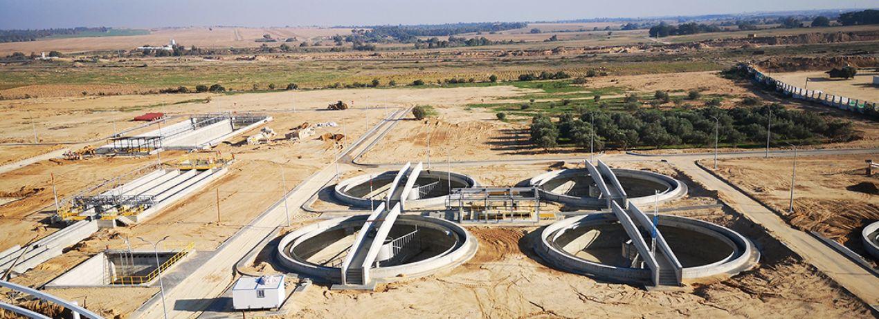 Wadi Gaza Atıksu Arıtma Tesisi ve Pompa İstasyonu