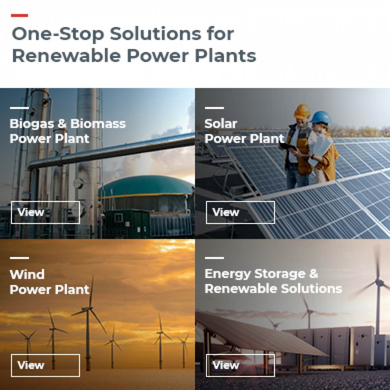 Renewable Energy and Solutions