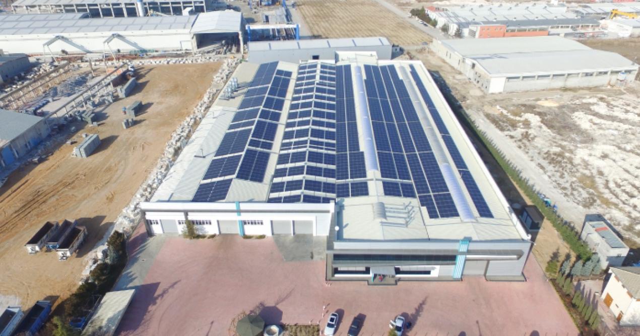 YEO Solar, çatı üzeri GES'lerde